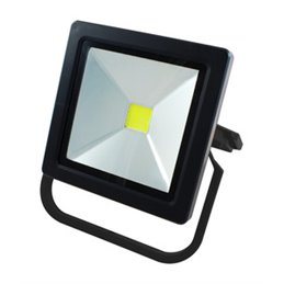 Foco exterior LED recargable.