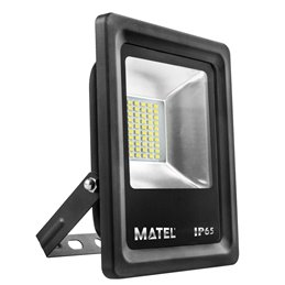 PROYECTOR LED NEGRO  20w.FRIA