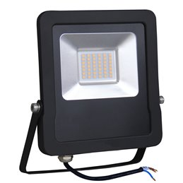 PROYECTOR LED 5 AÑOS NEGRO   30w.FRIA