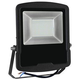 PROYECTOR LED 5 AÑOS NEGRO   50w.FRIA