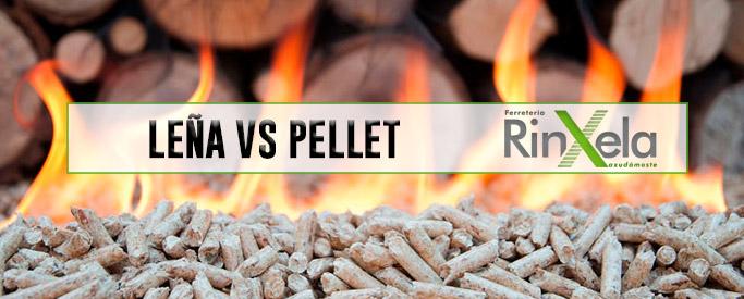 Estufa de leña vs estufa de pellet